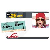 Titre de transport Pass' Mensuel -26 ans