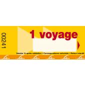 Titre de transport 1 voyage